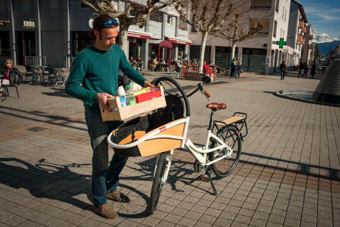 photo design vélo cargo