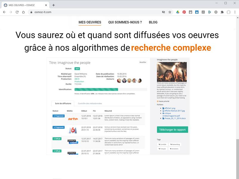 design ux plateforme web